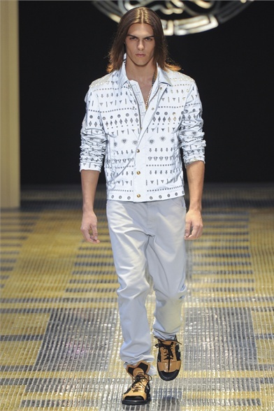 #DIGITAL#MOSAIC FOR VERSACE SPRING SUMMER 2013