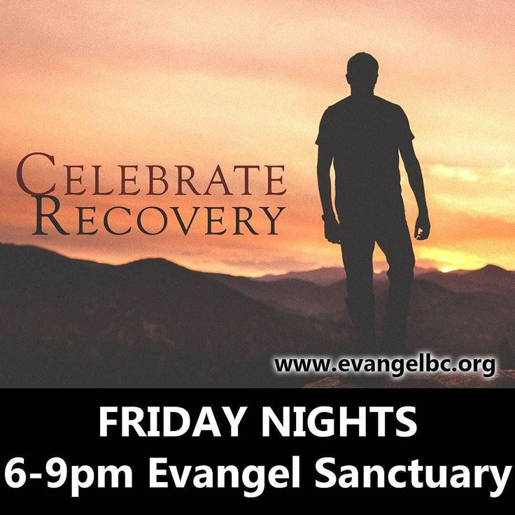 #CelebrateRecovery is a biblical and balanced program that helps us overcome our hurts hang-ups and habits. It is based on the actual words of Jesus rather than psychological theory. 6pm #EvangelKelowna