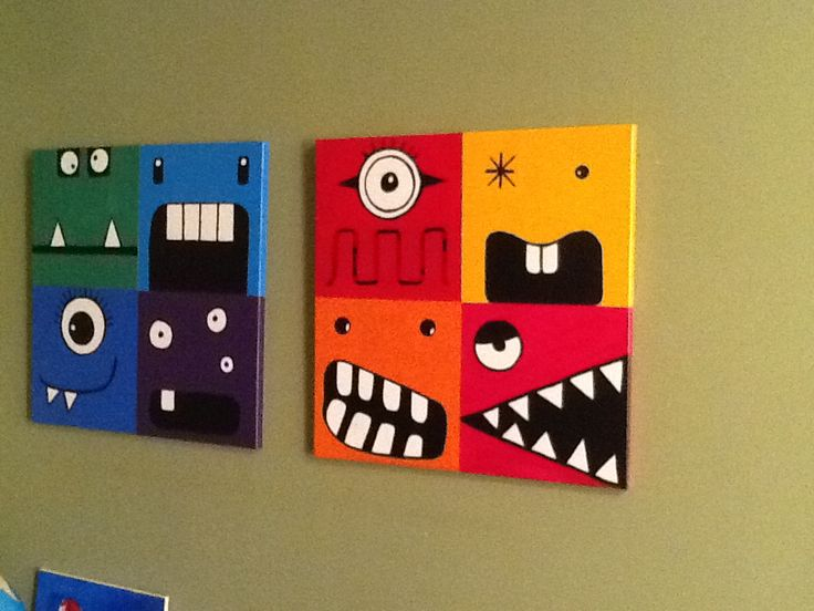 These are now hanging in the boys' room...inspired by a project i found on Pinterest...:)