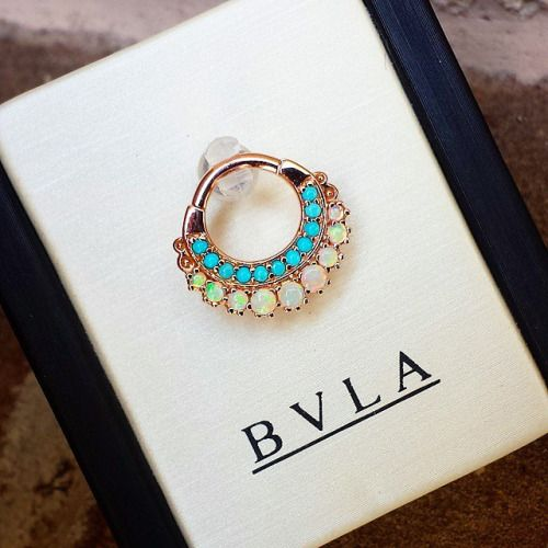 bvla opal septum ring - Google Search