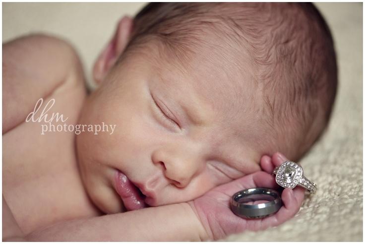 Rings with newborn