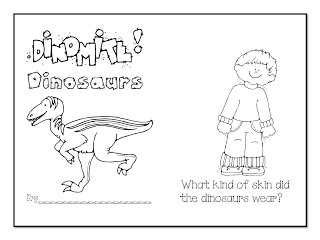 FREE Dinosaurs Emergent Reader! and   Freebie and Instagram, Oh, my!!!
