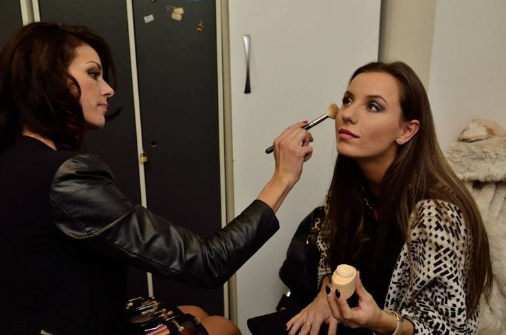 #backstage #makeup