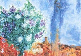 Sur les pas de marc chagall saint paul de vence saint for Chagall st paul de vence
