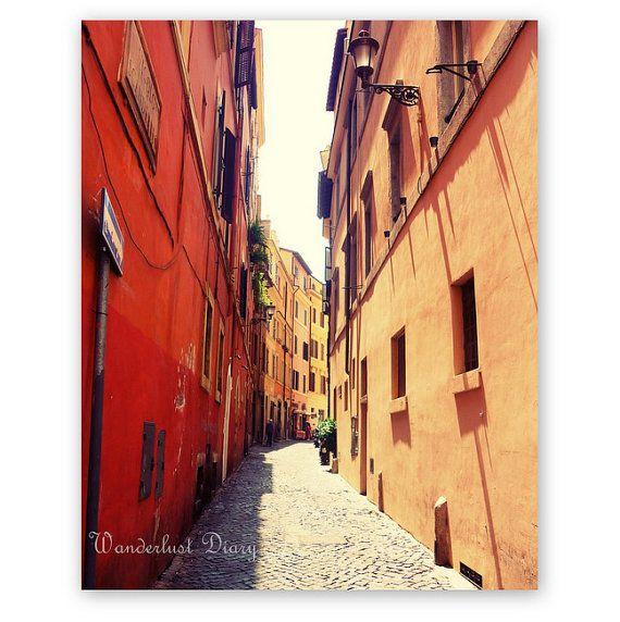 Italy Print Rome Photography City Photography by WanderlustDiary  #Rome #Italy #Europe #FineArt #TravelPhotography #Travel #FineArtPhotography #WallArt #Cityphotography #streetphotography