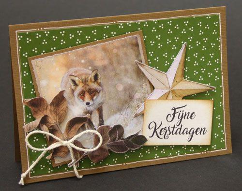 Dit zijn de kaarten van de kerstkaarten-cursus bij Marjolein Zweed Creatief in Abbekerk (N-H).
