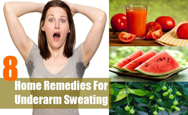 8 Home Remedies For Excessive Underarm Sweating