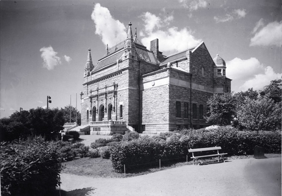 Brand new museum in the beginning of 20th century.