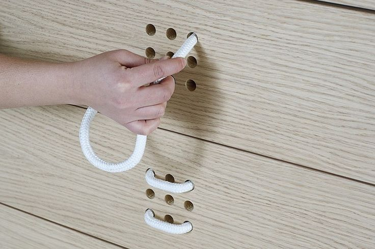 creative furniture with rope handles