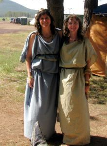 tutorial for simple Roman garb for warm weather