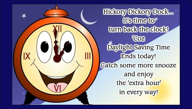 Daylight Savings Time Funny Quotes: Funny Daylight Savings Time Falls Back Images