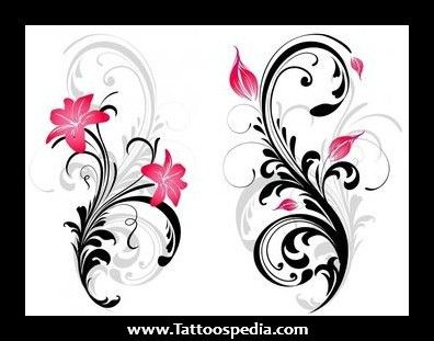 star gazer lillies back tattoos for women   ... 20Stargazer%20Lily%20Tattoo%201 Black And White Stargazer Lily Tattoo