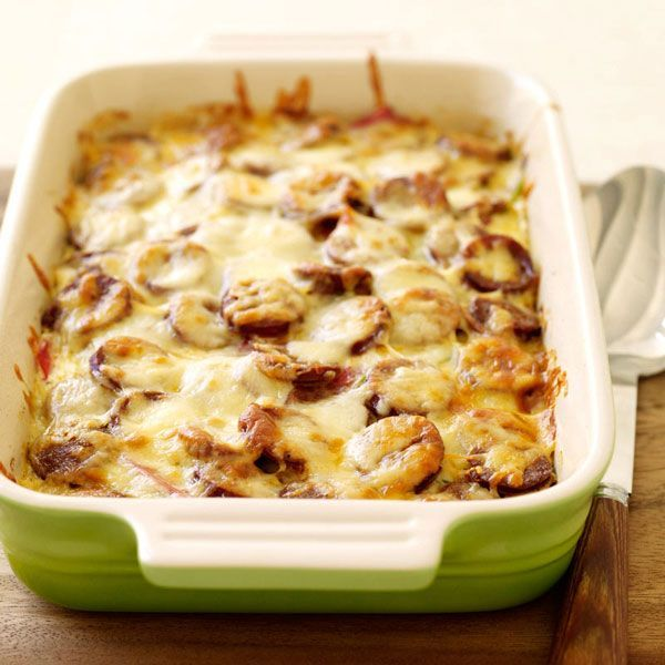Weight Watchers Texas Style Casserole: This potato and sausage-based casserole is an excellent make-ahead brunch recipe. Spice it up with a low-fat Mexican cheese mix and hot Italian sausage. 5 Points .