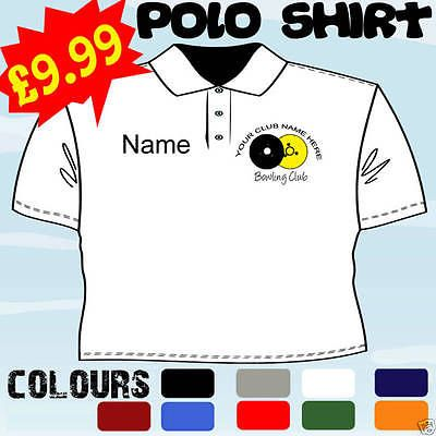 Lawn bowls #player club team #personalised t polo #shirt,  View more on the LINK: 	http://www.zeppy.io/product/gb/2/160875608680/