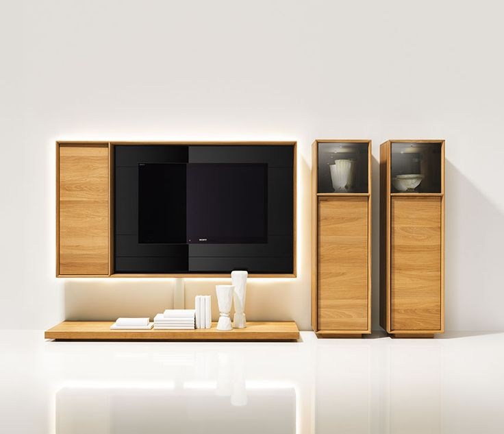 Lux wall mounted media unit cabinets