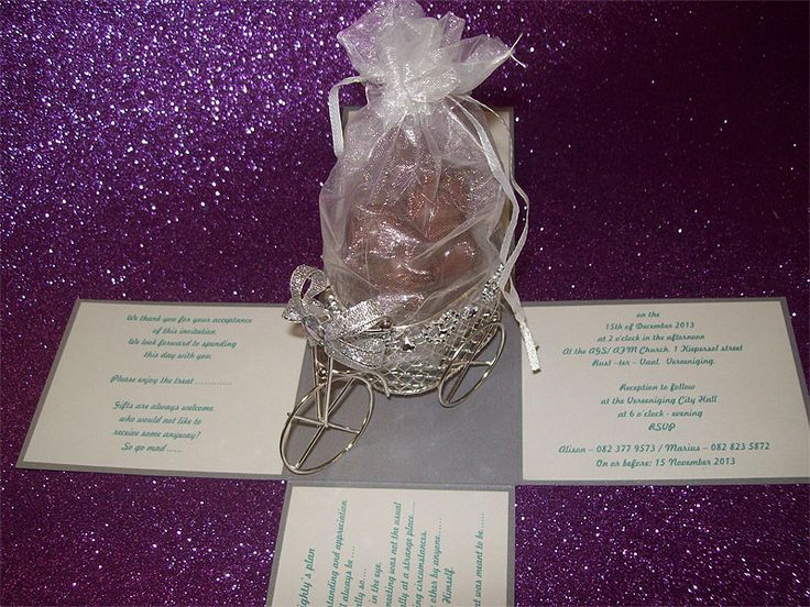 Ref Surprise Box ( we can do any colour) www.weddingcards.co.za