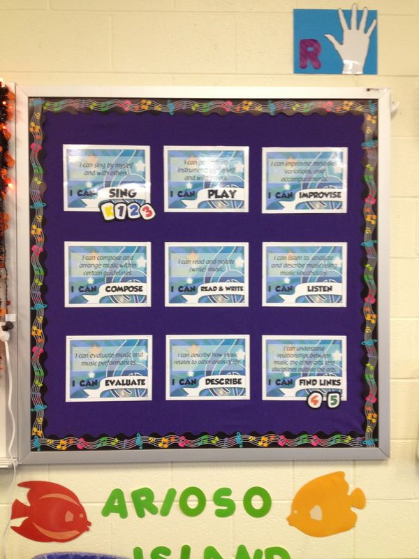 Top 25 ideas about music bulletin boards on pinterest for I can bulletin board ideas