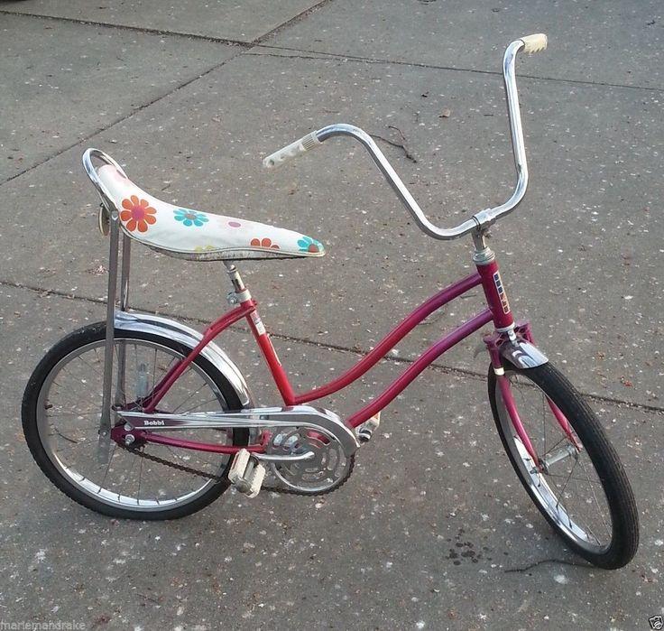 Vintage Banana Seat Bike 22