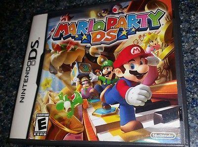Mario Party DS  (Nintendo DS, 2007) Complete