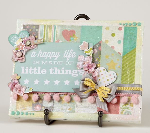 Card Making Ideas Scrapbooking Part - 21: NEW Simple Stories Hello Baby - Scrapbook.com- DIY Baby Quote/frame For ·  Card SketchesScrapbook CardsBaby ...
