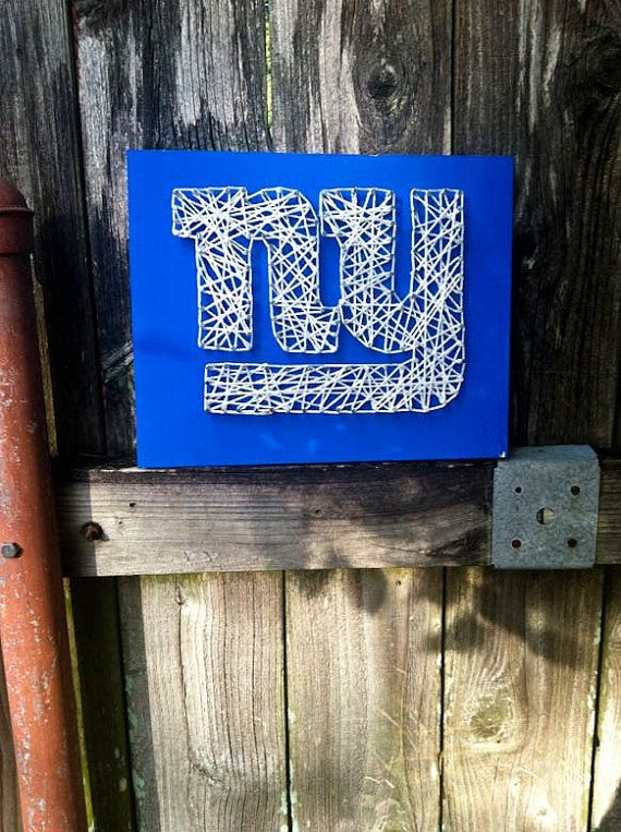 New York Giants String ArtDifferent Sizes by LoveLaughterLenses, $32.00