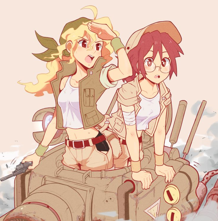 Eri and Fio - Metal Slug