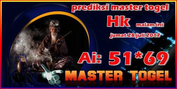 Prediksi master togel hk jumat 28 juli 2017 malam ini