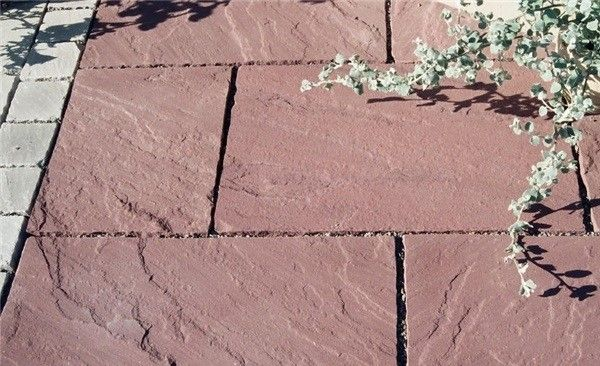 Buy mandana red sandstone paving with natural finish from Stonemart, the leading natural stone exporter in india.