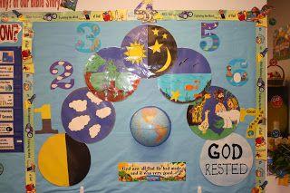 Hands On Bible Teacher---Creation Bulletin Board