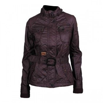 Khujo Orca Quilted Jacke weinrot