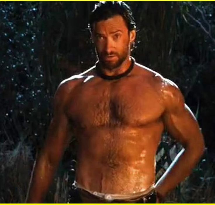 I really don't think I have to explain why I'm adding Hugh Jackman to this board, do I?