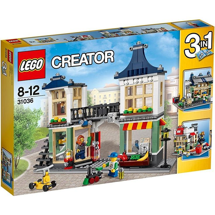 Lego 31036 - Creator Spielzeug- und Lebensmittelgeschäft: Amazon.de: Spielzeug