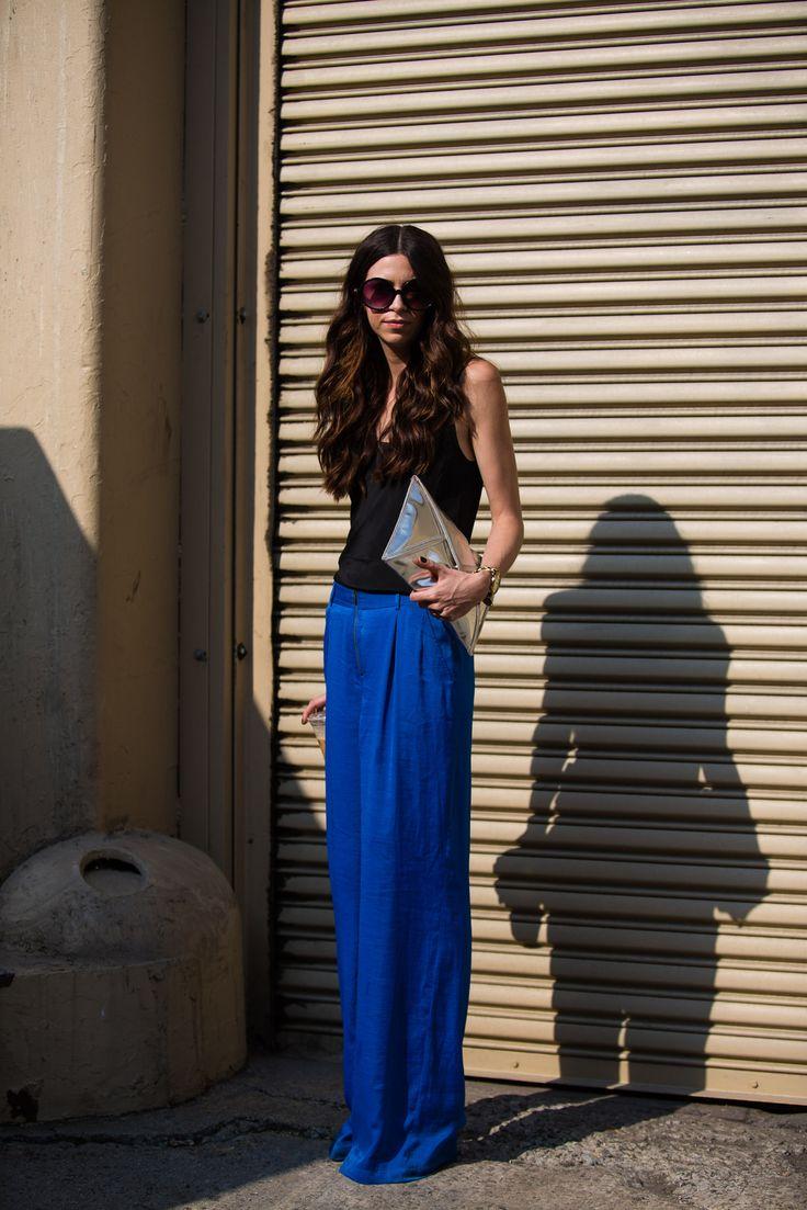 Les plus beaux streetlooks de la Fashion Week de New York #2   Glamour