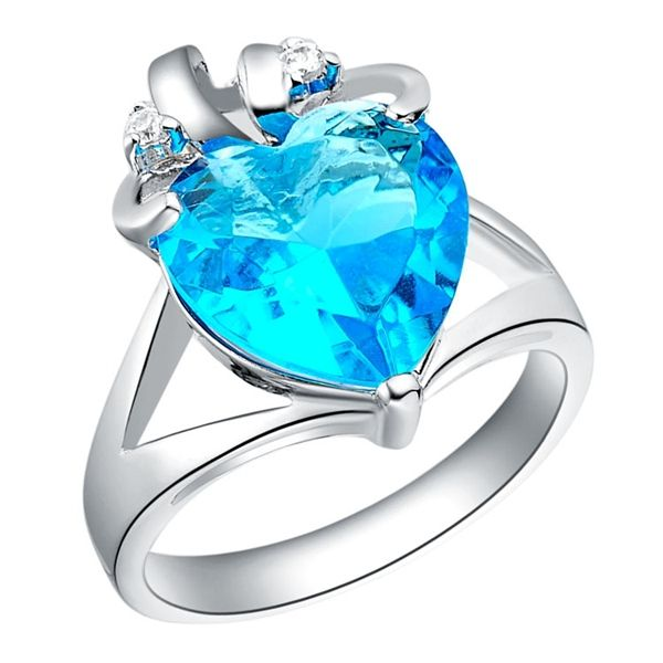 Find More Rings Information about Sapphire Jewelry Engagement Rings With Cubic Zircon Simulated Diamond Fashion 2016 Anillos De Plata Anel Feminino Uloveido J105,High Quality ring thing bottle opener,China ring biker Suppliers, Cheap ring mp4 from Ulovestore Fashion Jewelry on Aliexpress.com