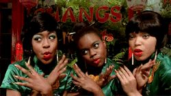 film mine Tichina Arnold Tisha Campbell-Martin Little Shop of Horrors Frank Oz michelle weeks lsohgif