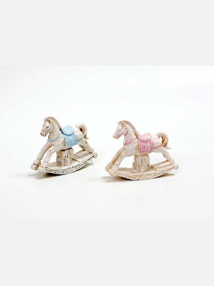 Christening horse favors for boys and girls #carousel @olgazafiraki