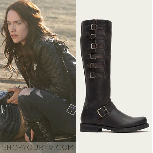 Wynonna: Season 1 Episode 1 Wynonna's Black Buckle Boots