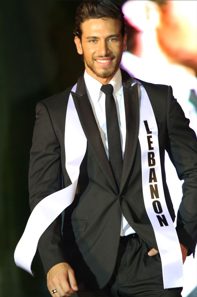 Ali Hammoud of Lebanon wins Mister International 2012