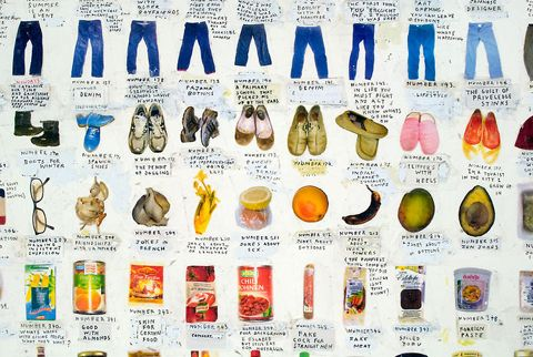 Simon Evans took a photo of every item that he owns and catalogued it here in one place