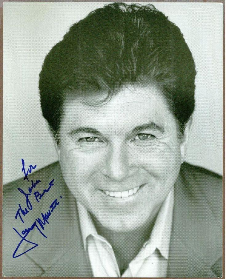 "Larry Manetti, Magnum PI Actor, Signed & Inscribed 8"" x 10"" B & W Photo, COA"