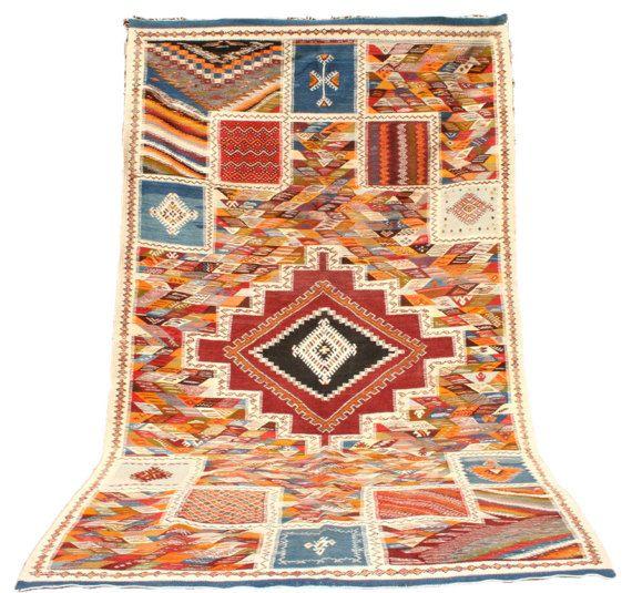 Kelim Teppich, Wandteppich, Wandbehang, Orientteppich