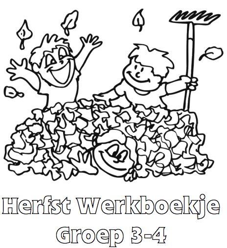 Herfst Werkboekje Groep 3-4