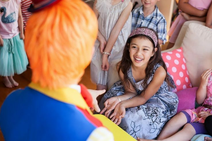 Our clowns are great for kids of all ages! Auckland entertainers from Cornflake's Magic World.