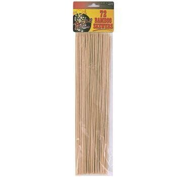 Bamboo Skewers (24 Pack) by bar b q time. $77.46. High quality items at low prices to our valued customers.. We proudly offer free shipping. We can only ship to the continental United States.. Please refer to the title for the exact description of the item.. 100% Satisfaction Guaranteed.. All of the products showcased throughout are 100% Original Brand Names.. Fire up the barbecue, because these skewers are just waiting for some meat and vegetables to be threaded o...