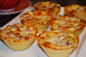 Картофельные тарталетки с грибами | Рецепты приготовления ...