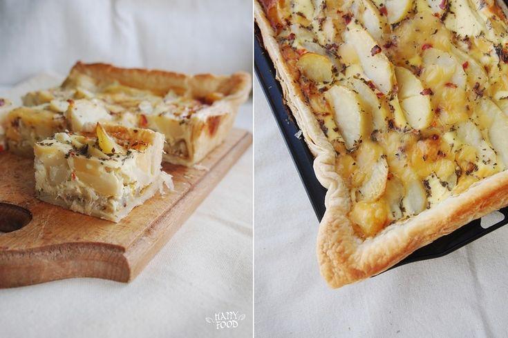 Картофельный пирог на слоеном тесте (Potato puff pie)