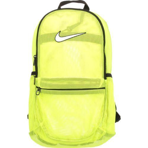 ca669d4ba6 Nike Brasilia Mesh Backpack Yellow Bright - Backpacks at Academy Sports