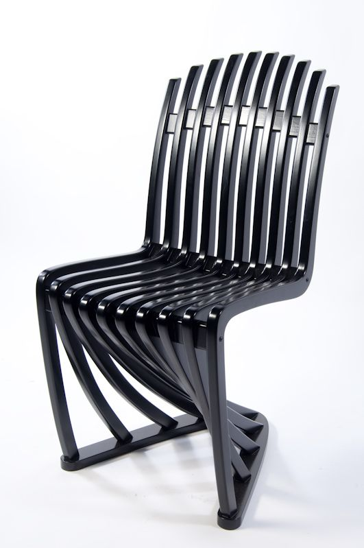 Stripe Chair Design by Joachim King.