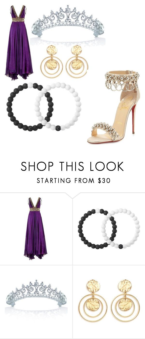 """The big announcement"" by mandalinaqitrydewi on Polyvore featuring Matthew Williamson, Lokai, Bling Jewelry, Kenneth Jay Lane and Christian Louboutin"