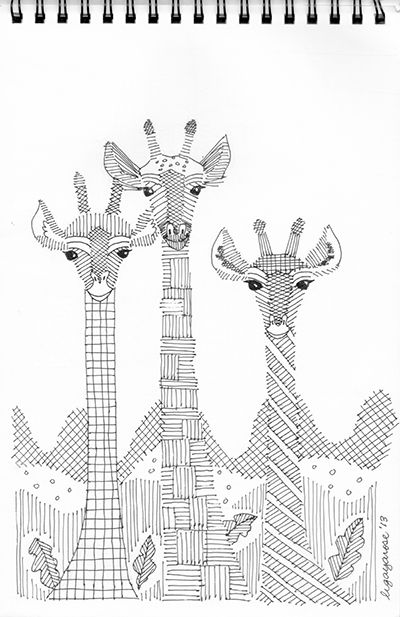 153 best Giraffes images on Pinterest Giraffes Adult coloring and